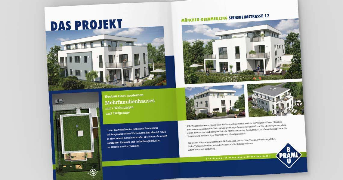 werbeagentur deggendorf gestaltung immobilien broschüre